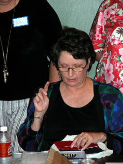 Martha Berry - Cherokee Cultural Society, Houston 2004